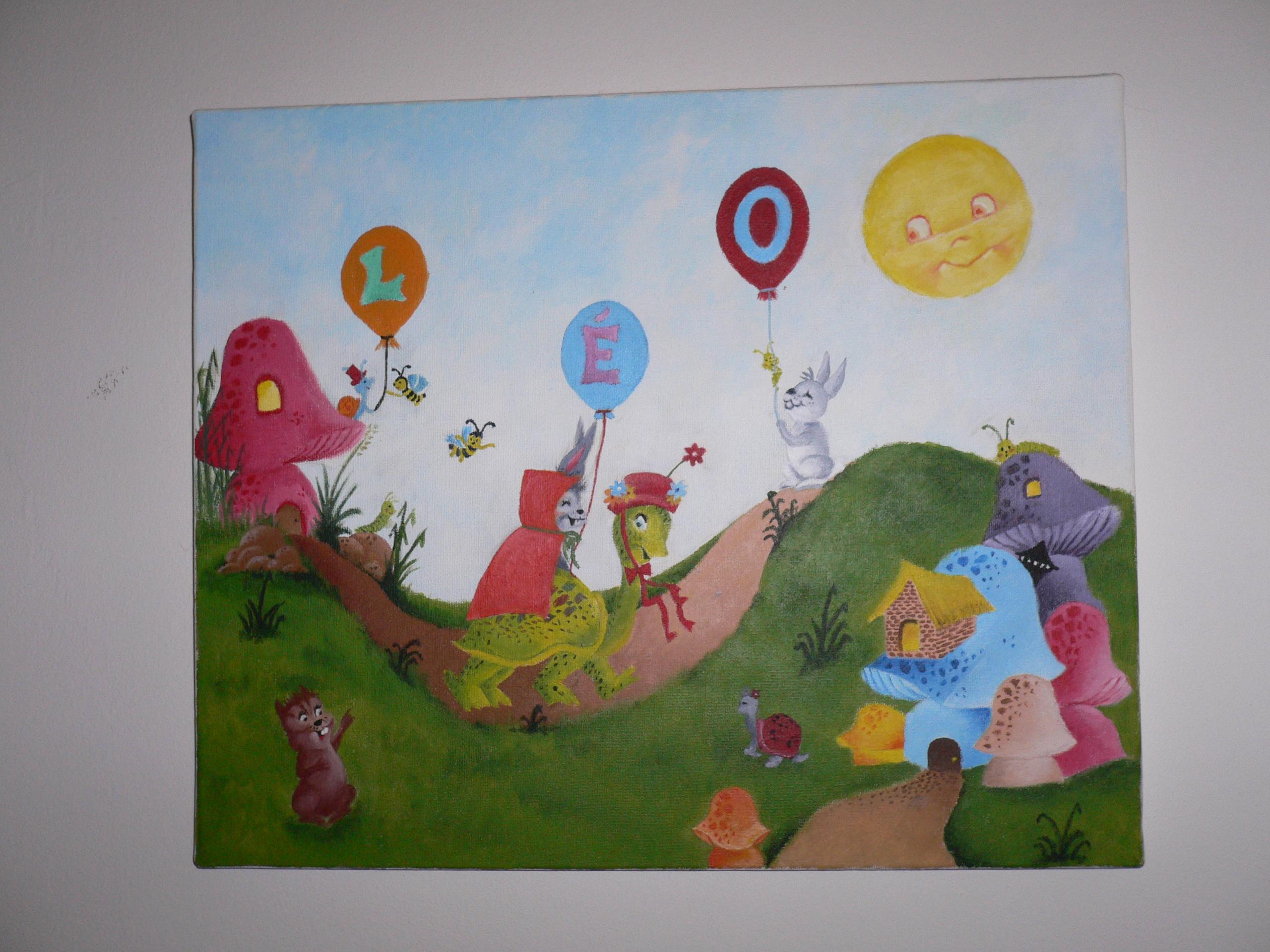 Les tableaux d alex mes tableaux d enfants - Grand tableau pour enfant ...